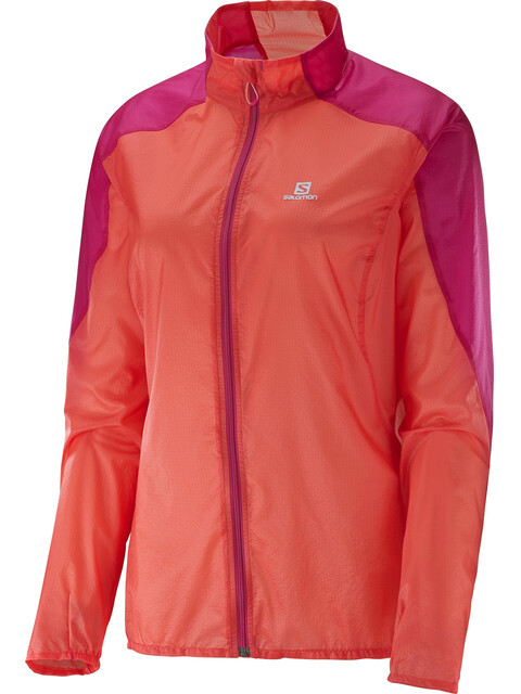 Salomon Fast W's Wing Jacket Coral Punch/Gaura Pink